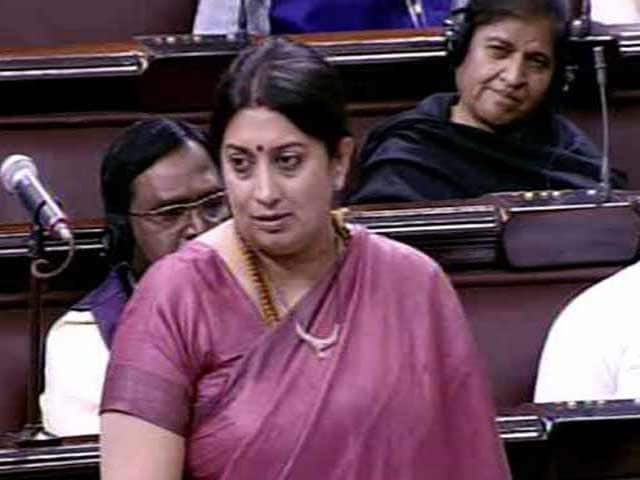Video : 'Fair Is Foul, Foul Is Fair,' Smriti Irani Quotes From Macbeth In Parliament