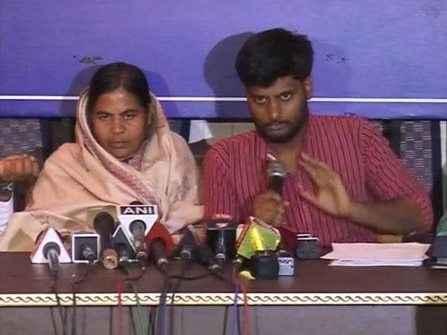Video : Minister Smriti Irani Lied In Parliament, Says Rohith Vemula's Family
