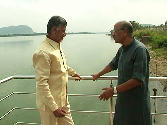 Video : Walk The Talk With Chandrababu Naidu