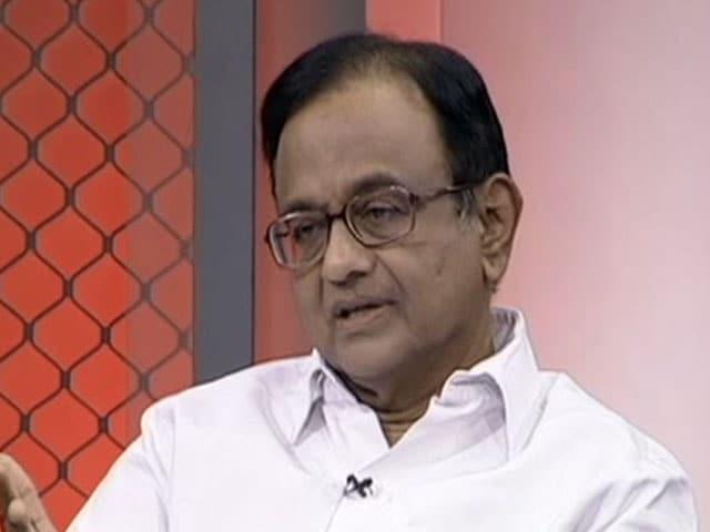 Video : I Own Decision To File Second Affidavit On Ishrat Case: P Chidambaram