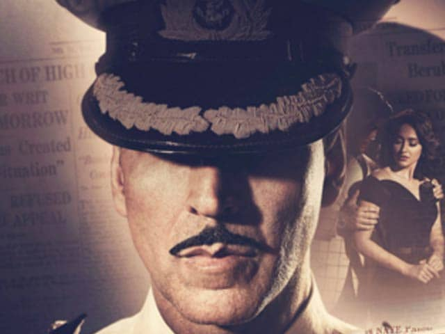 Video : Akshay Kumar Tweets <i>Rustom</i> Poster