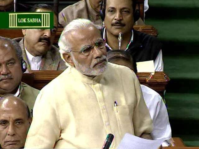 Video : PM Modi's Stalin Anecdote In Parliament Read As Rebuttal On JNU Case