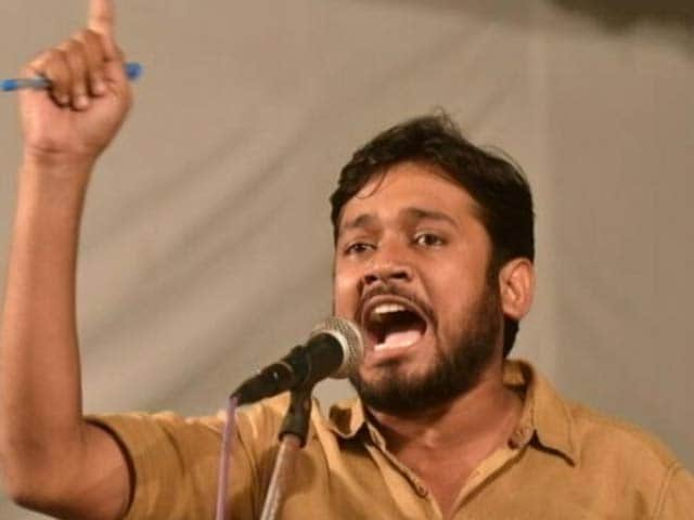 Video : JNU छात्र संघ अध्यक्ष कन्हैया कुमार अंतरिम जमानत पर तिहाड़ जेल से रिहा