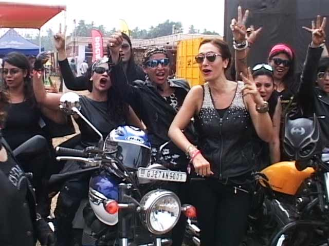 Offbeat Moments of India Bike Week