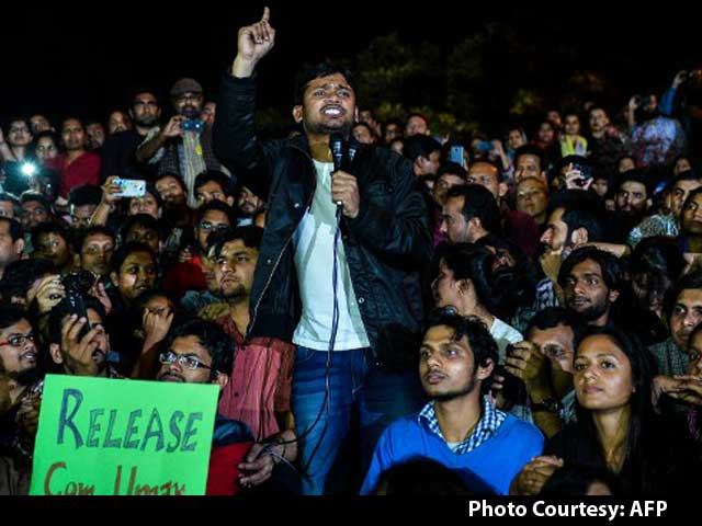 Video : Out Of Jail, Kanhaiya Kumar Attacks PM Modi In Speech On JNU Campus