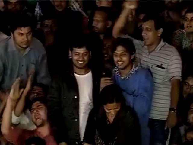 Videos : नेशनल रिपोर्टर : जेल से रिहाई के बाद जेएनयू लौटे कन्हैया