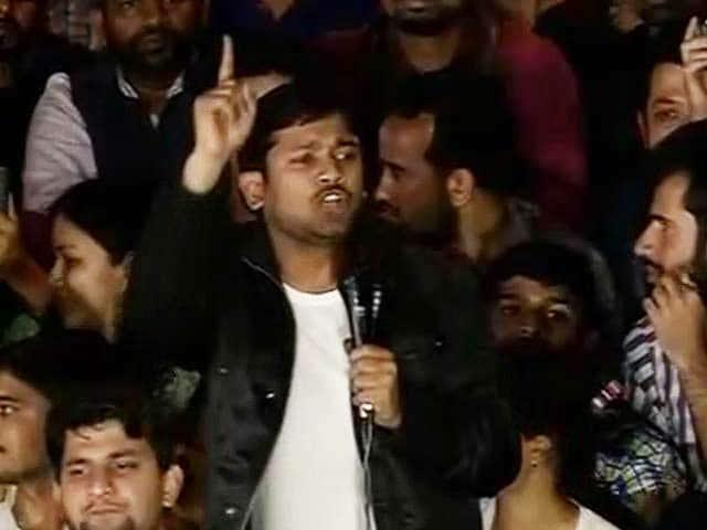 Videos : हम देश से नहीं, बल्कि देश में आज़ादी चाहते हैं : JNU में बोले कन्हैया