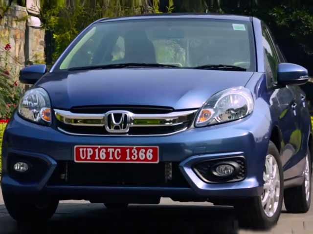 Video : First Look: New Honda Amaze