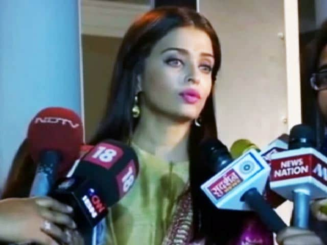 Video : <i>Sarbjit</i> is Intense and Emotional: Aishwarya