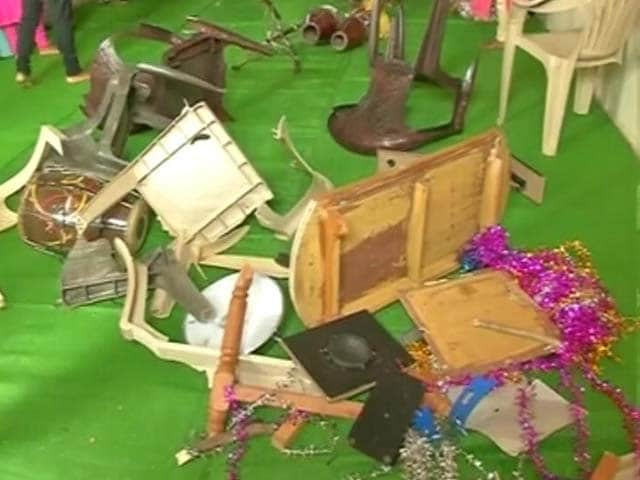 Video : Chhattisgarh Church Vandalised During Service, Congregants Thrashed