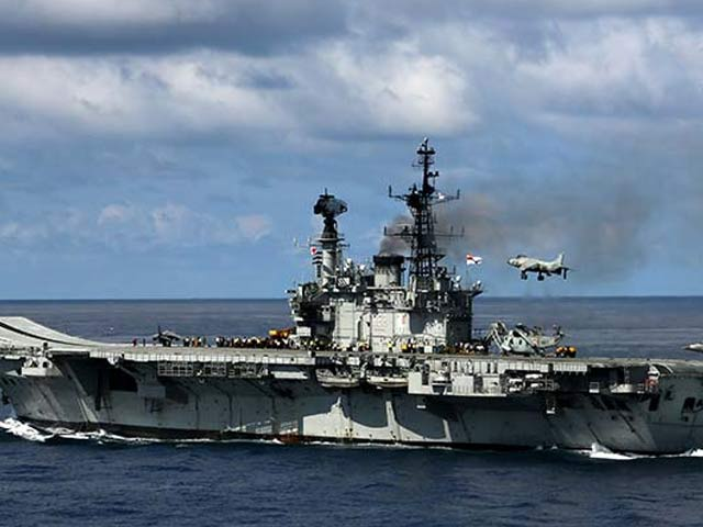Video : Sailor Dies In Fire Onboard Aircraft Carrier INS Viraat