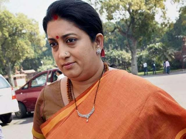 Video : In Accident That Killed Doctor, Police Back Minister Smriti Irani