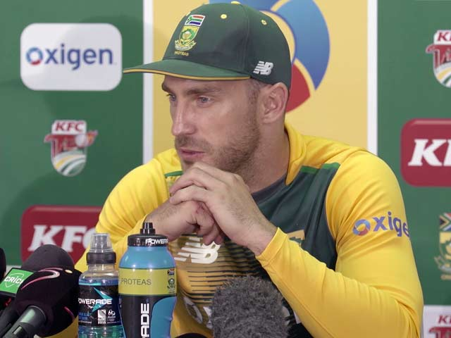 Video : World T20: Conditions in India Will be Challenging, Says Du Plessis