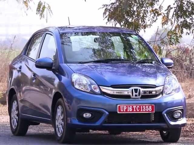 Video : First Drive: New Honda Amaze CVT