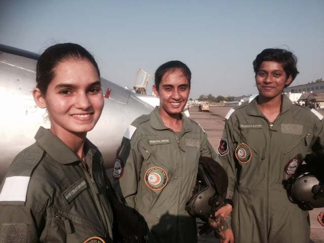 Video : Meet India's First Three Women Fighter Pilots To Be