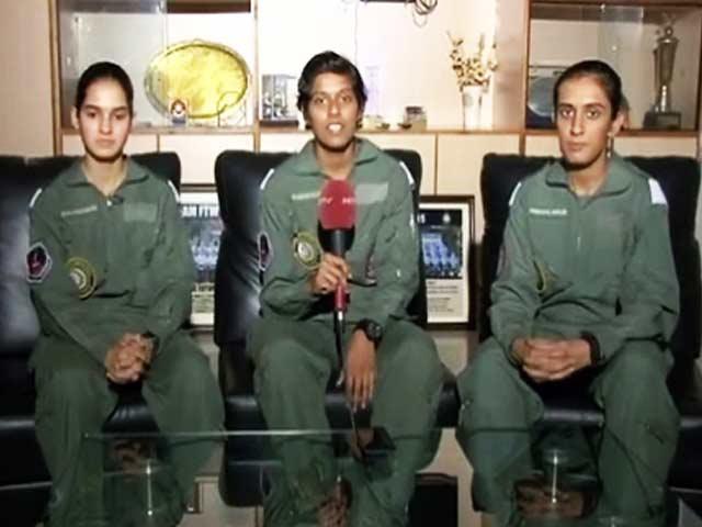 Videos : नेशनल रिपोर्टर : पहली महिला फायटर पाइलटों से खास बातचीत