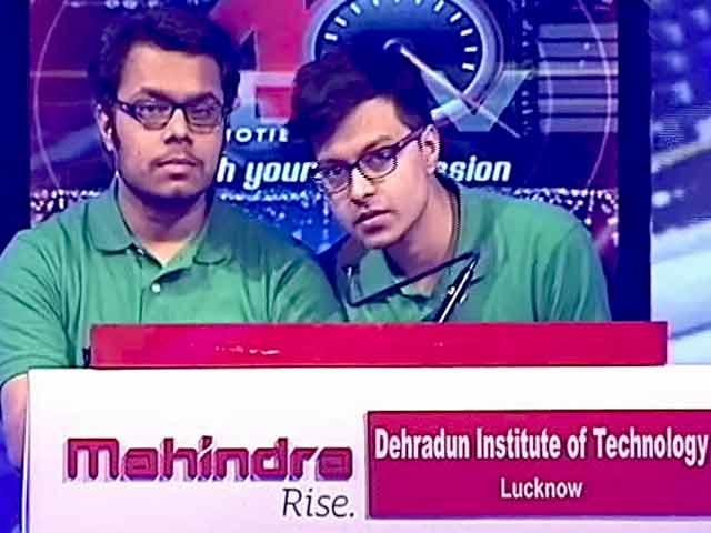 Video : Mahindra AQ 2016: North Zone Final