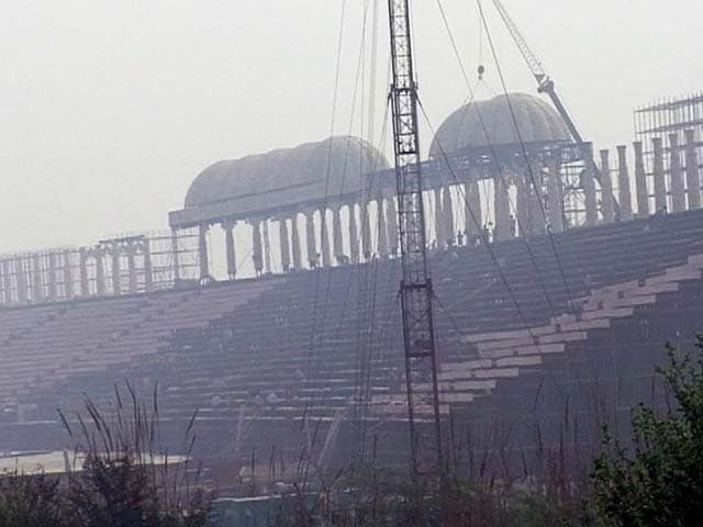 Video : Sri Sri Event's 7-Acre Stage Unstable, PM Needs Another, Civic Body Told Cops