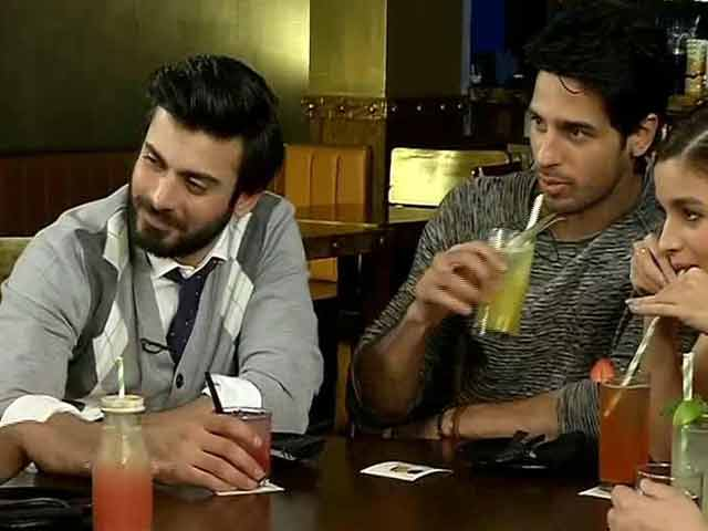 Video : Fawad Khan Likes to Party. A Lot