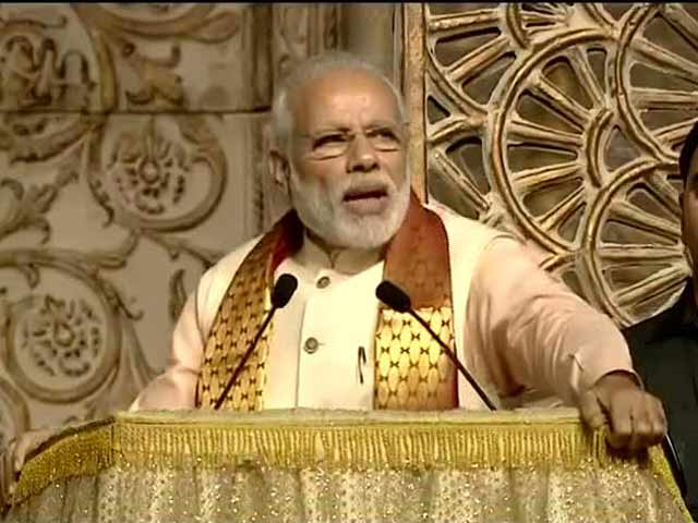 Video : 'If We Criticise Everything, Why Should World Look At Us?' PM At Sri Sri Event