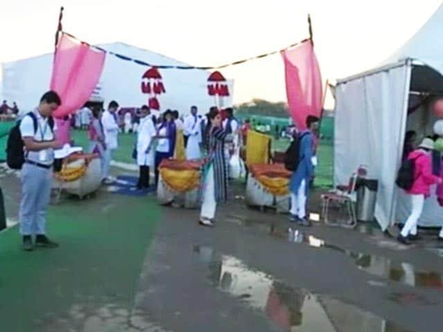 Video : श्री श्री रविशंकर के मेगा शो का आज दूसरा दिन