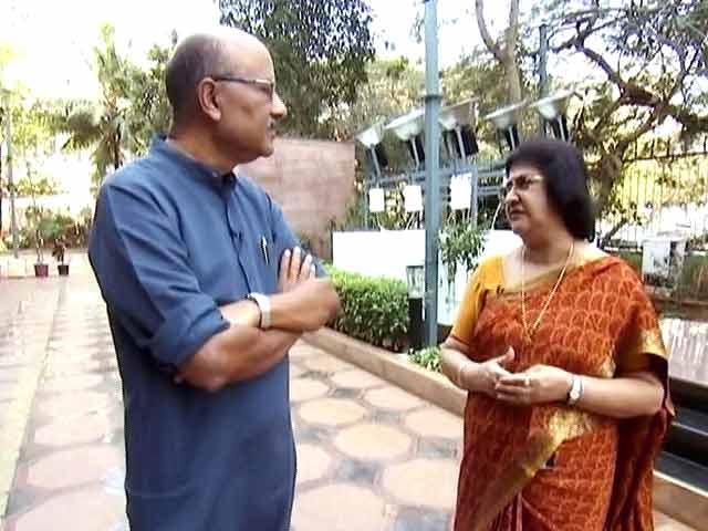 Video : 'चलते-चलते' SBI की प्रमुख अरुंधति भट्टाचार्य के साथ