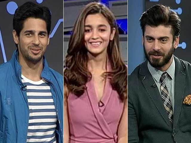 Video : The One Rumour That Alia, Sidharth and Fawad Wish Was True