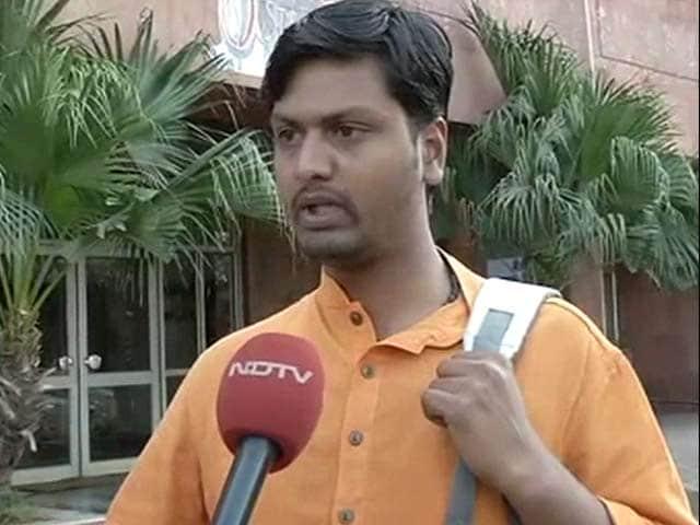 Video : At Afzal Guru Event, Men Threatened To Kill Me, Says BJP Student Leader