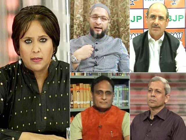 Video : Row Over Chanting 'Bharat Mata Ki Jai': Patriotism Or Politics?
