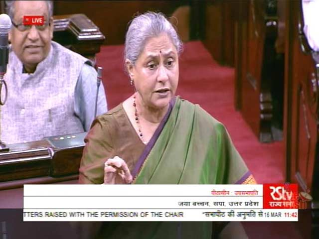 Video : 'Another Partition,' Warns Jaya Bachchan In Parliament