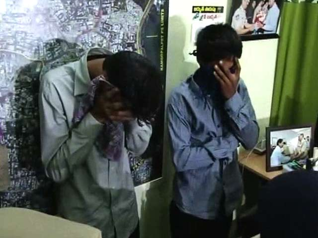 Video : With Phone In Underwear, Hyderabad Student Caught Cheating In Class 12 Exam