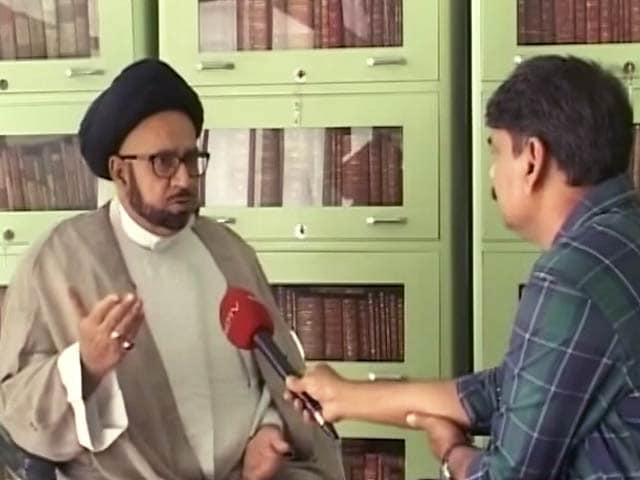 Videos : 'भारत माता की जय' बोलने से इस्लाम का कोई ताल्लुक़ नहीं : मुस्लिम धर्मगुरु