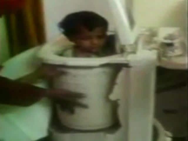 Video : Karnataka 2-Year-Old Stuck In Washing Machine For 30 Minutes