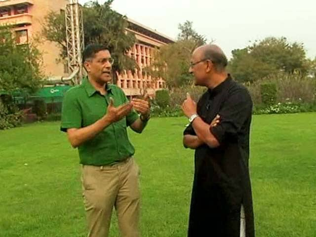 Video : Walk The Talk With Arvind Subramanian