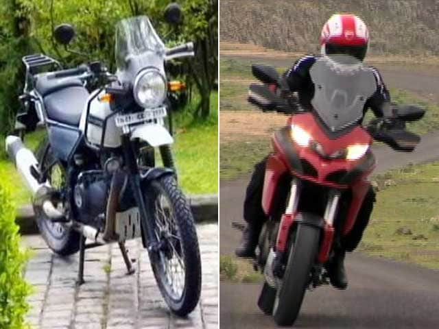 Video : Car and Bike Show: Ducati Mutistrada 1200S, Royal Enfield Himalayan and Bajaj V15