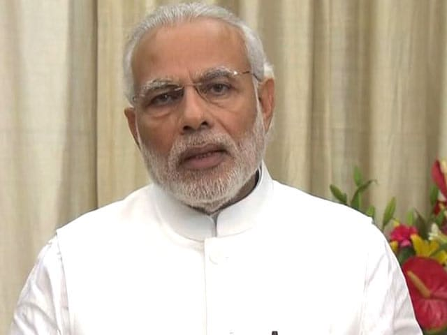 Video : Vikas, Vikas, Vikas Is My Only Focus, Says PM Modi
