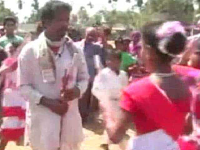 Video : In Assam, A Political Holi Like No Other
