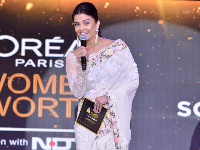 Video : It's An Opportunity To Recognise Women who Make A Difference: Aishwarya