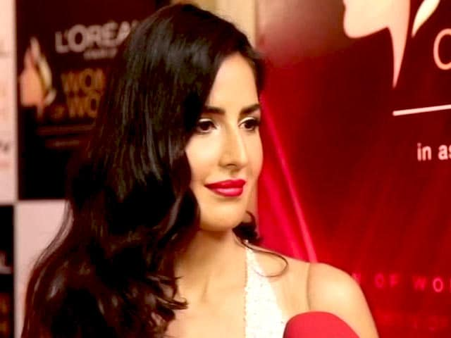 Video : Katrina Kaif Inspired by Serena Williams, Indira Gandhi
