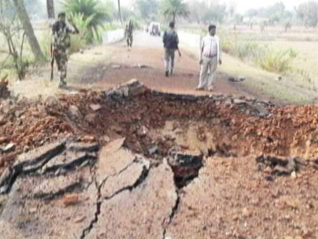 Video : 7 Security Personnel Killed In Landmine Blast In Chhattisgarh