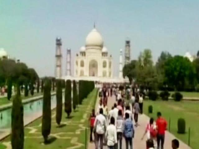 Video : Taj Facelift Meant For Royal Visit, Says Archeological Survey Of India