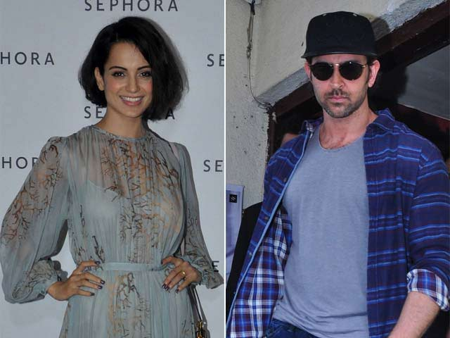 Hrithik Roshan Names Kangana, Who Is Summoned By Cops