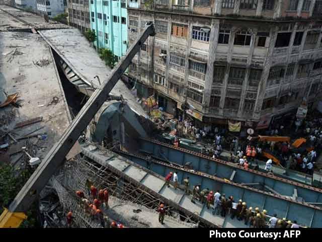 Video : Kolkata Flyover Builder Hints At Bomb Blast Possibility