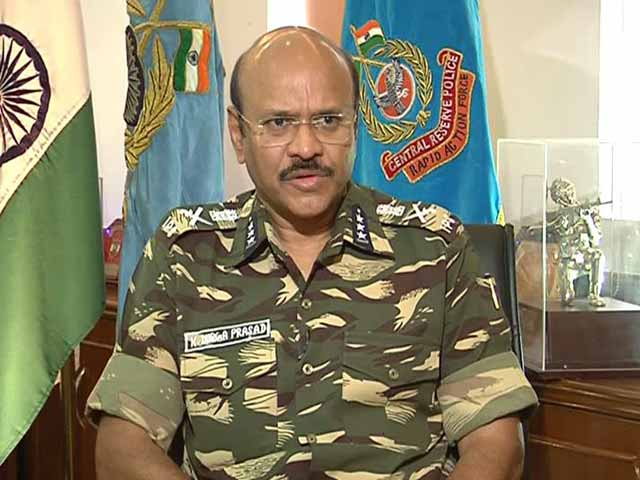 Video : 'Jawans Sad But Not Out': NDTV Exclusive With CRPF Chief