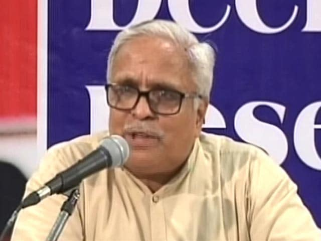 Videos : वास्तव में 'वंदे मातरम्' है राष्ट्रगान : आरएसएस नेता भैयाजी जोशी