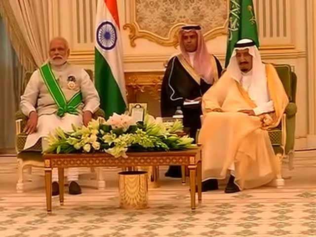 Video : PM Modi, Saudi King Sign Agreement On Fighting Terror