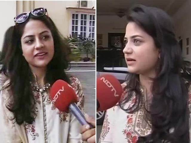 Video : Mehbooba Mufti Is Role Model For All Women, Say Her Daughters