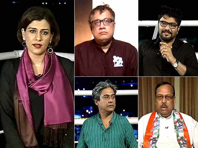 Video : Battle For Bengal: Left-Congress Tie Up Giving Mamata A Tough Fight?