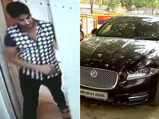 Video : 'See Ya Later': Gurgaon Cook Drives Off With Employer's Jaguar