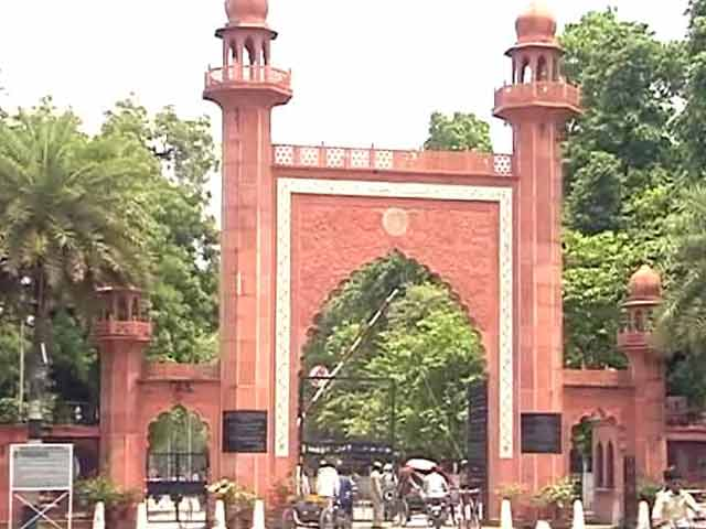 Video : Government To Not Support Minority Status For Aligarh Muslim University